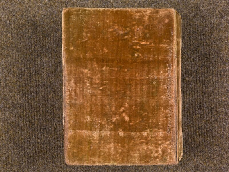 CHANTILLY, Bibliothèque du château, 0008 (1376), plat inférieur