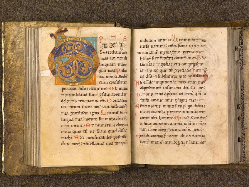 CHANTILLY, Bibliothèque du château, 0008 (1376), f. 038v - 039