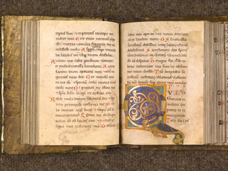 CHANTILLY, Bibliothèque du château, 0008 (1376), f. 050v - 051