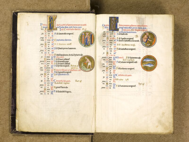CHANTILLY, Bibliothèque du château, 0009 (1695), f. 003v - 004