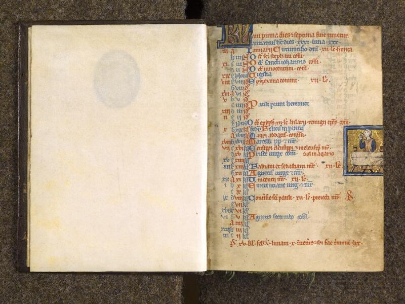 CHANTILLY, Bibliothèque du château, 0010 (1453), f. 000A - f. 001