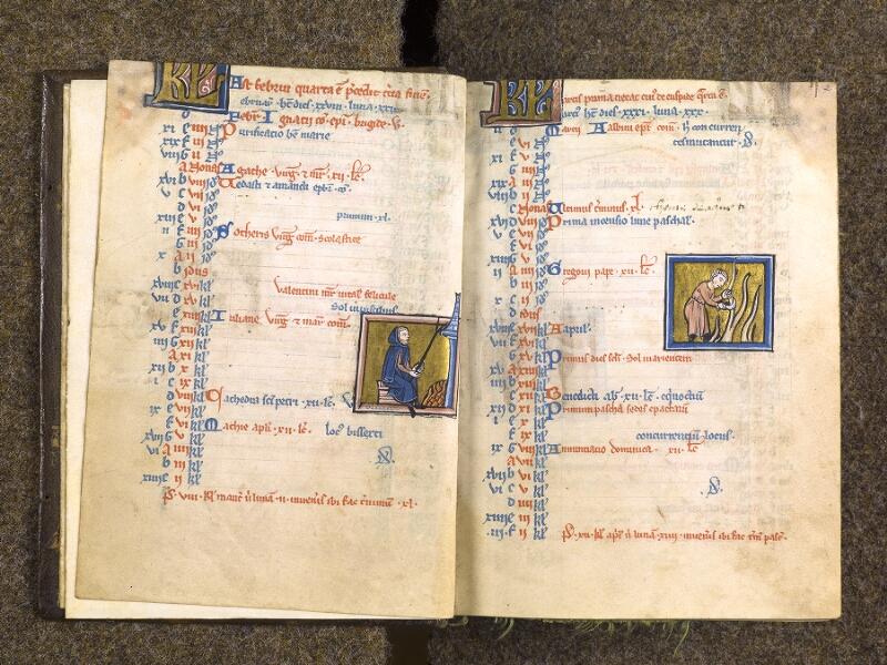 CHANTILLY, Bibliothèque du château, 0010 (1453), f. 001v - 002
