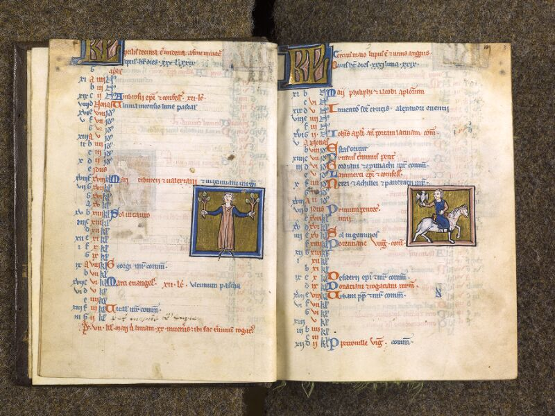 CHANTILLY, Bibliothèque du château, 0010 (1453), f. 002v - 003