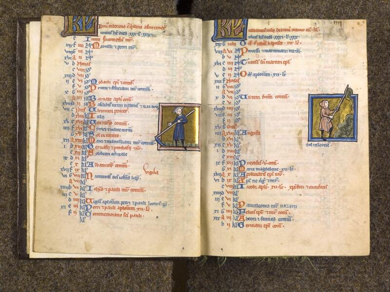 CHANTILLY, Bibliothèque du château, 0010 (1453), f. 003v - 004
