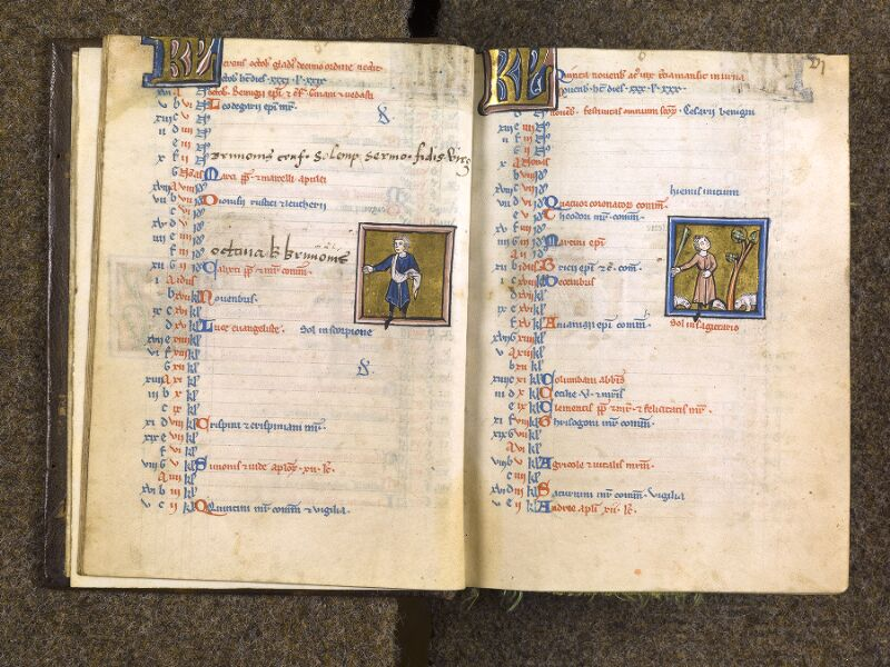 CHANTILLY, Bibliothèque du château, 0010 (1453), f. 005v - 006