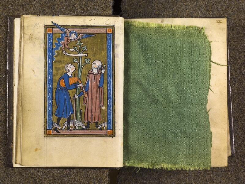 CHANTILLY, Bibliothèque du château, 0010 (1453), f. 008v - feuille de soie