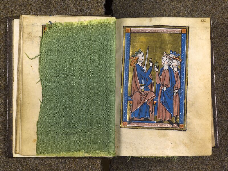 CHANTILLY, Bibliothèque du château, 0010 (1453), feuille de soie - 009
