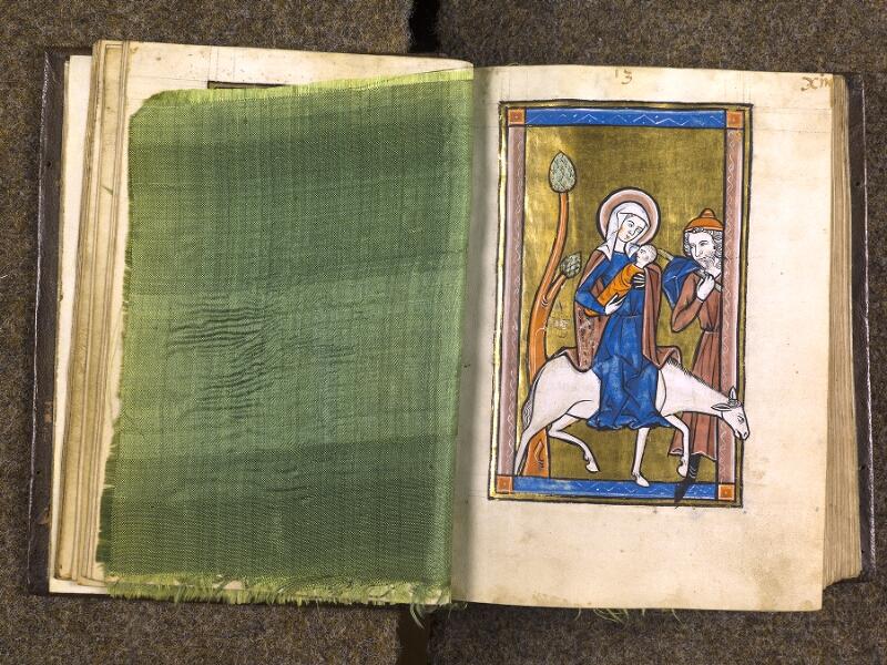 CHANTILLY, Bibliothèque du château, 0010 (1453), feuille de soie - 013