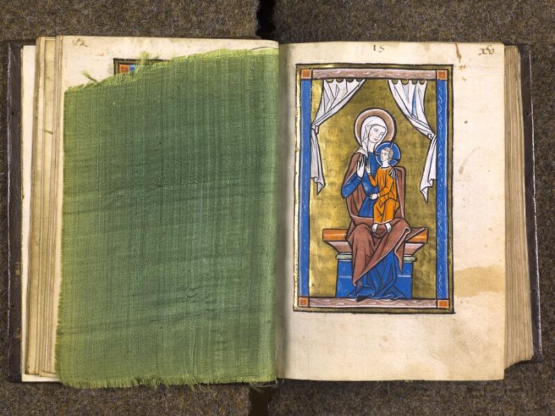 CHANTILLY, Bibliothèque du château, 0010 (1453), feuille de soie - 015