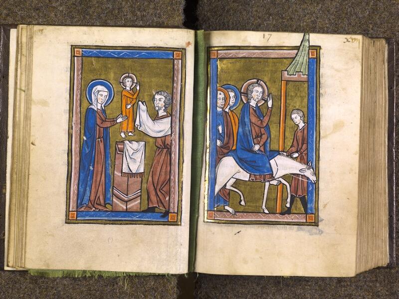 CHANTILLY, Bibliothèque du château, 0010 (1453), f. 016v - 017