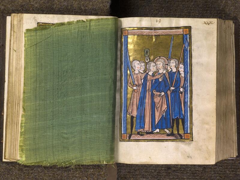 CHANTILLY, Bibliothèque du château, 0010 (1453), feuille de soie - 019