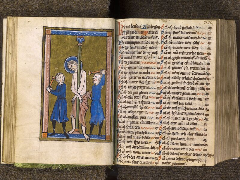 CHANTILLY, Bibliothèque du château, 0010 (1453), f. 020v - 021