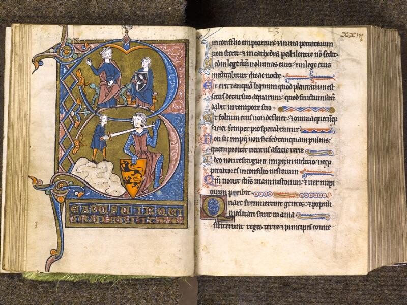 CHANTILLY, Bibliothèque du château, 0010 (1453), f. 022v - 023