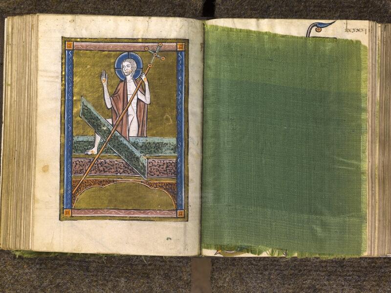 CHANTILLY, Bibliothèque du château, 0010 (1453), f. 090v - feuille de soie