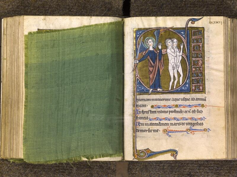 CHANTILLY, Bibliothèque du château, 0010 (1453), feuille de soie - 091