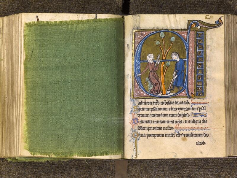 CHANTILLY, Bibliothèque du château, 0010 (1453), feuille de soie - 111