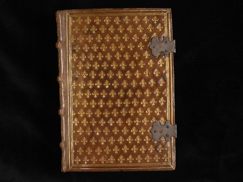 CHANTILLY, Bibliothèque du château, 0011 (1421), plat supérieur