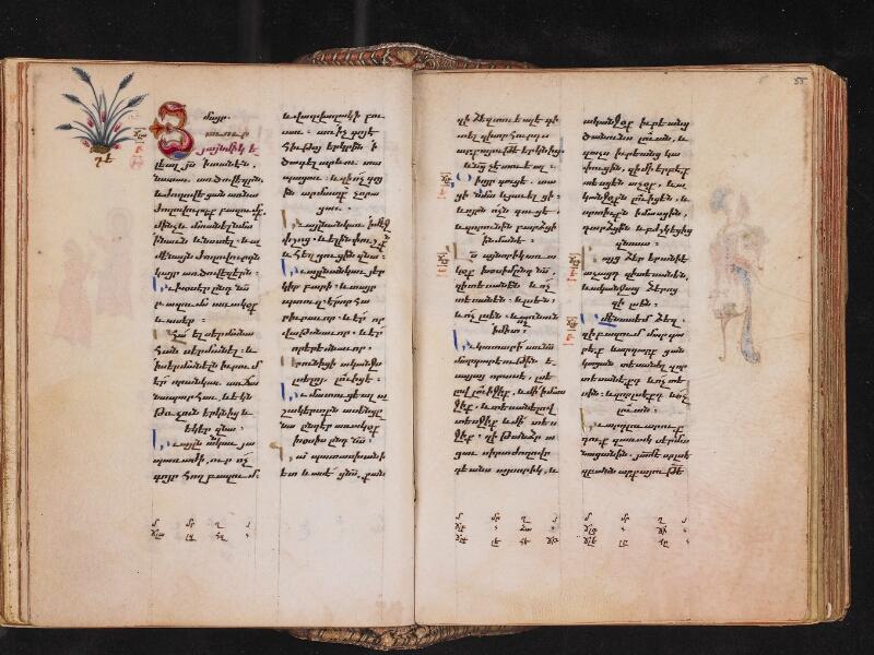 CHANTILLY, Bibliothèque du château, 0013 (1346), f. 054v - 055