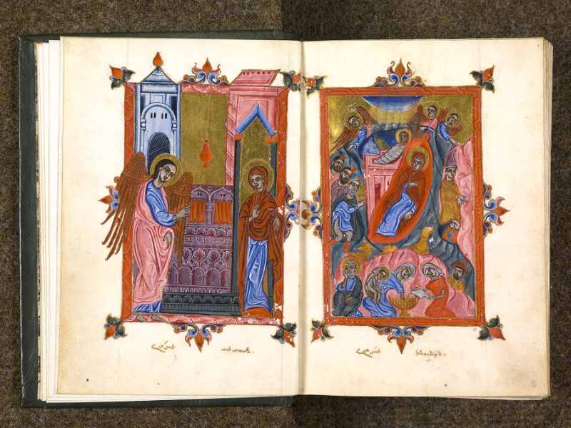 CHANTILLY, Bibliothèque du château, 0014 (1353), f. 001v - 002