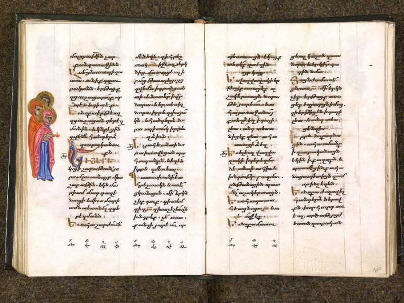 CHANTILLY, Bibliothèque du château, 0014 (1353), f. 099v - 100