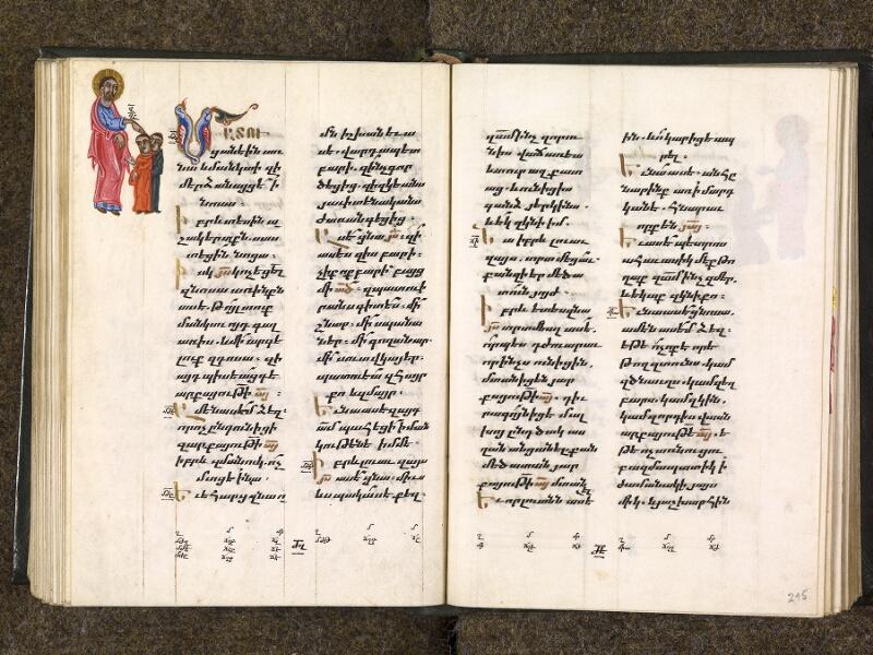 CHANTILLY, Bibliothèque du château, 0014 (1353), f. 214v - 215