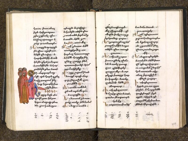 CHANTILLY, Bibliothèque du château, 0014 (1353), f. 228v - 229