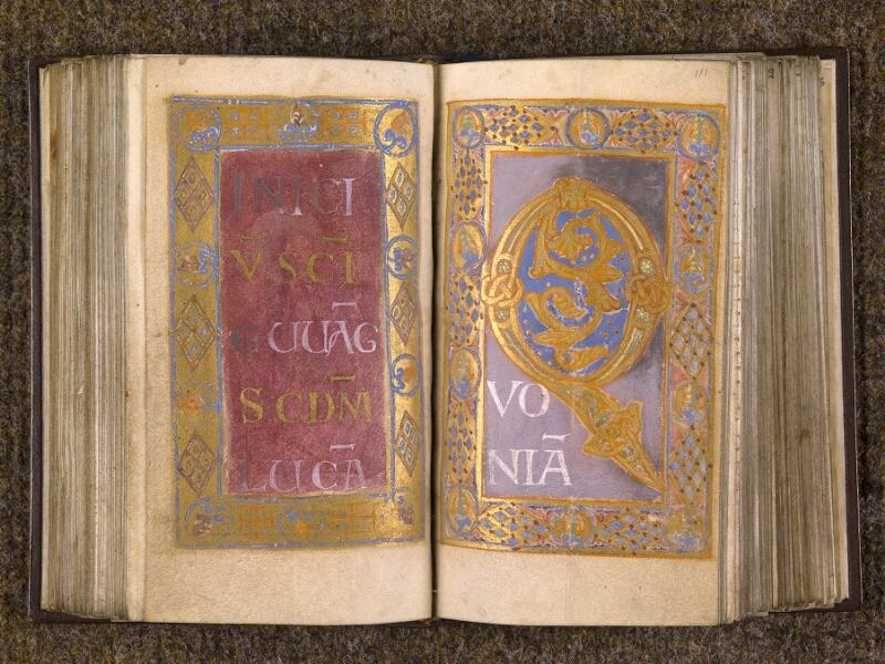 CHANTILLY, Bibliothèque du château, 0015 (1326), f. 110v - 111