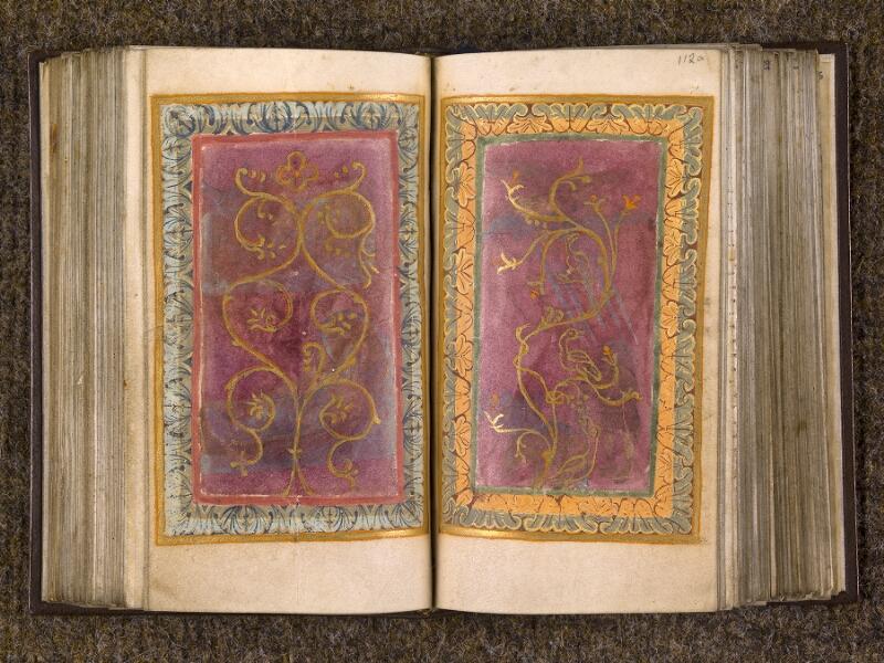 CHANTILLY, Bibliothèque du château, 0015 (1326), f. 111v - 112