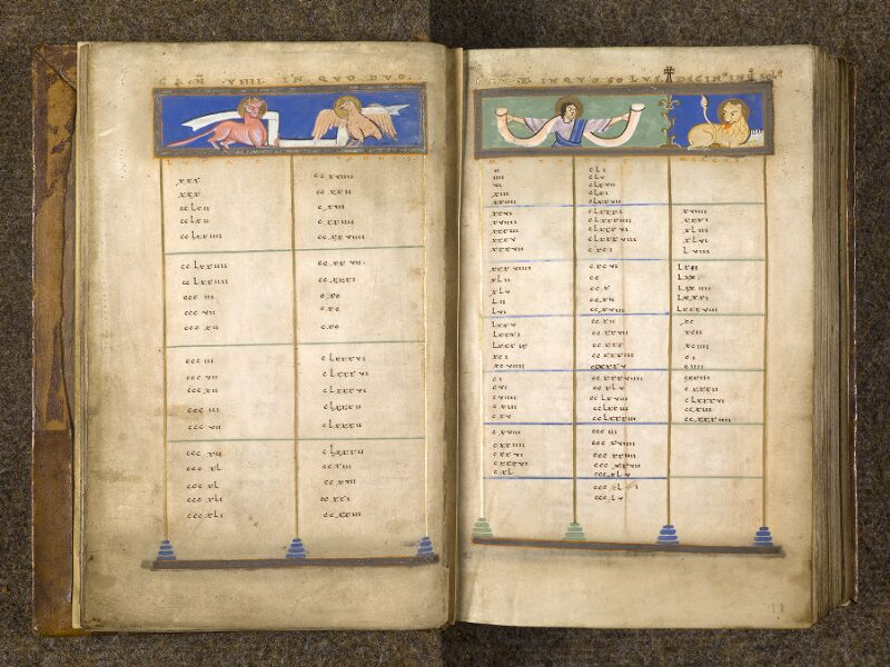 CHANTILLY, Bibliothèque du château, 0016 (1143), f. 009v - 010