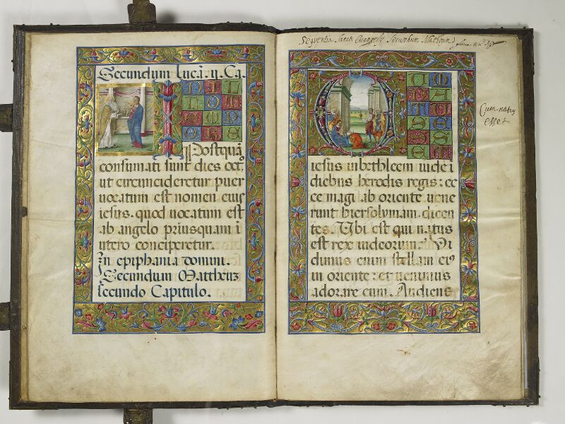 CHANTILLY, Bibliothèque du château, 0018 (1410), f. 008v - 009