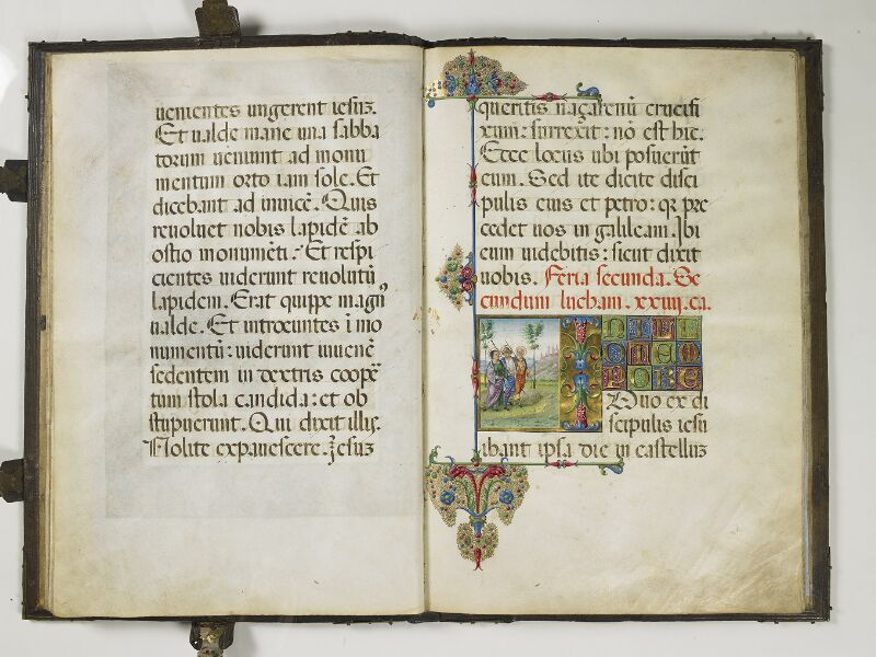 CHANTILLY, Bibliothèque du château, 0018 (1410), f. 014v - 015