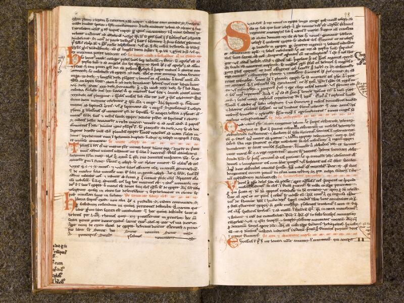 CHANTILLY, Bibliothèque du château, 0022 (0994), f. 027v - 028