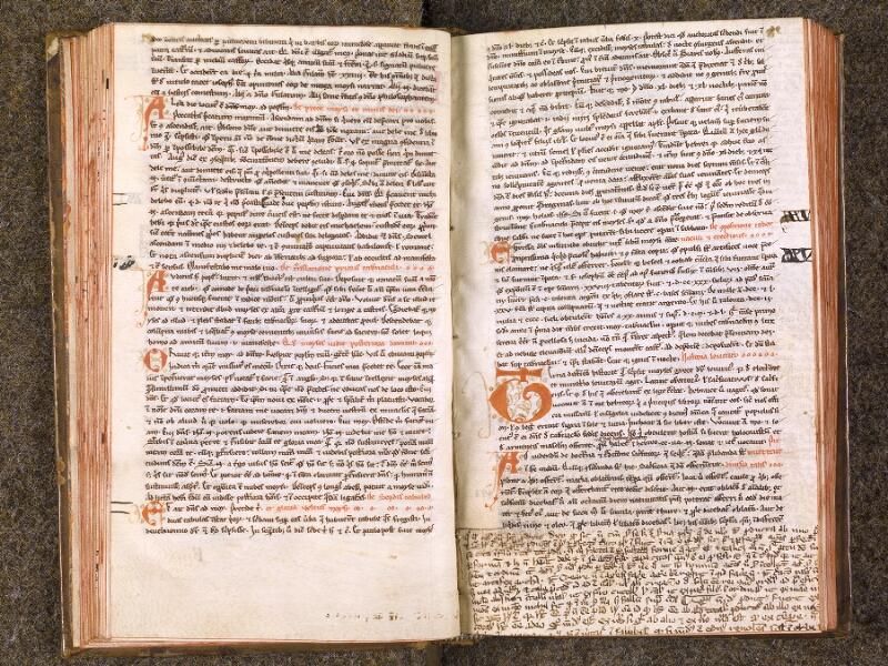 CHANTILLY, Bibliothèque du château, 0022 (0994), f. 041v - 042