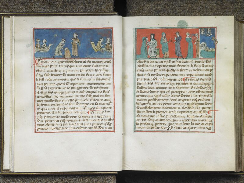 CHANTILLY, Bibliothèque du château, 0027 (1079), f. 003v - 004
