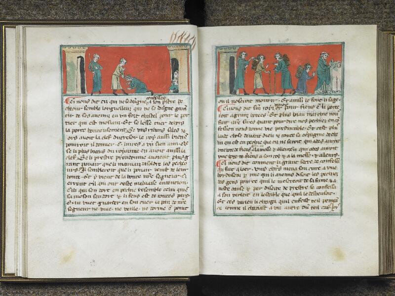 CHANTILLY, Bibliothèque du château, 0027 (1079), f. 008v - 009