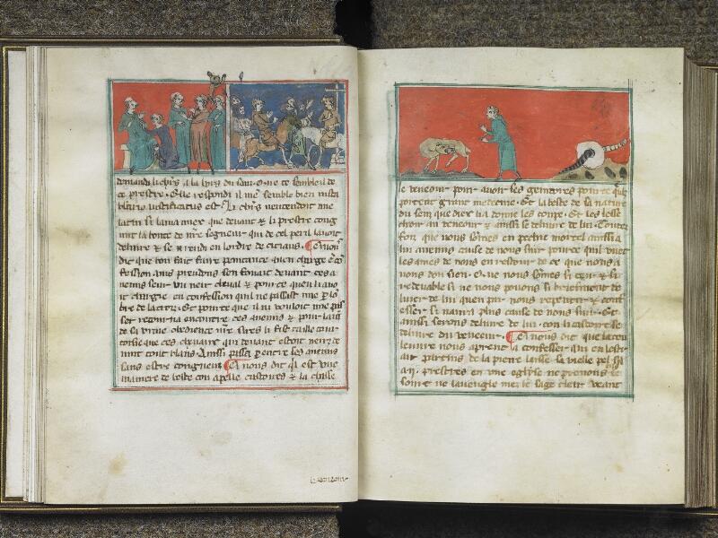 CHANTILLY, Bibliothèque du château, 0027 (1079), f. 009v - 010