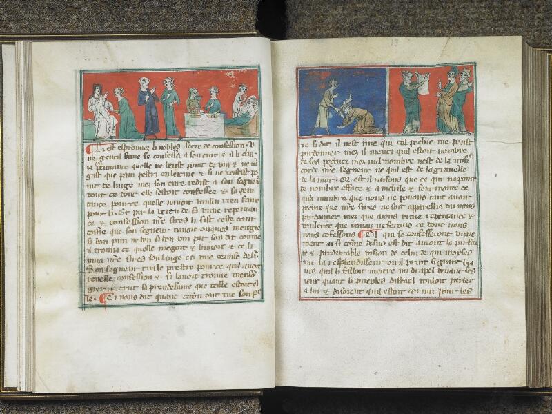 CHANTILLY, Bibliothèque du château, 0027 (1079), f. 012v - 013