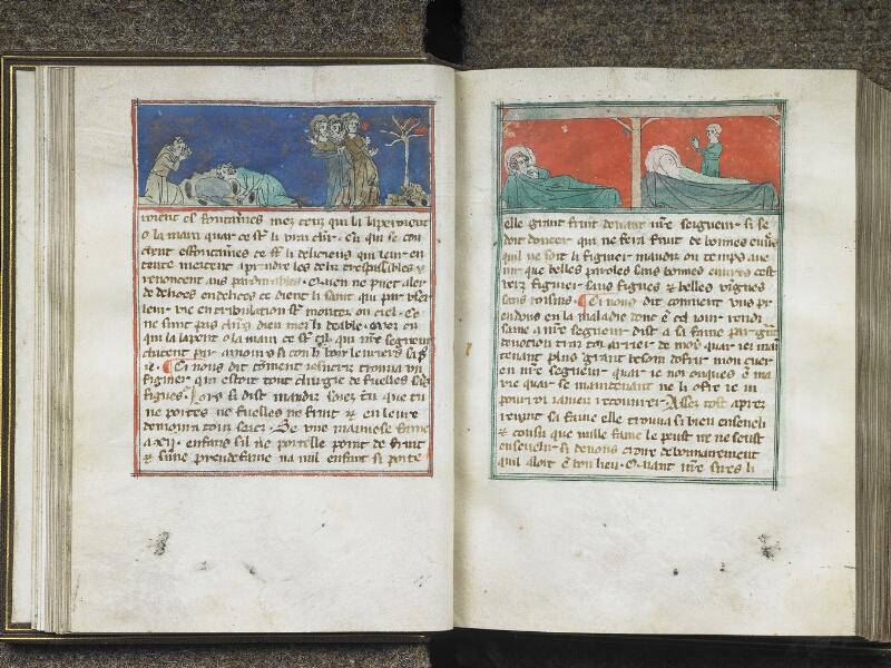 CHANTILLY, Bibliothèque du château, 0027 (1079), f. 021v - 022