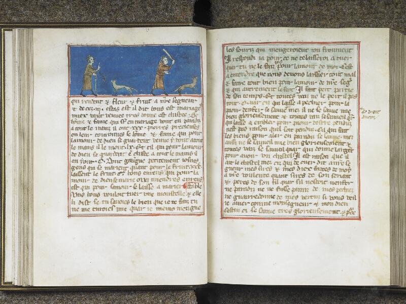 CHANTILLY, Bibliothèque du château, 0027 (1079), f. 028v - 029