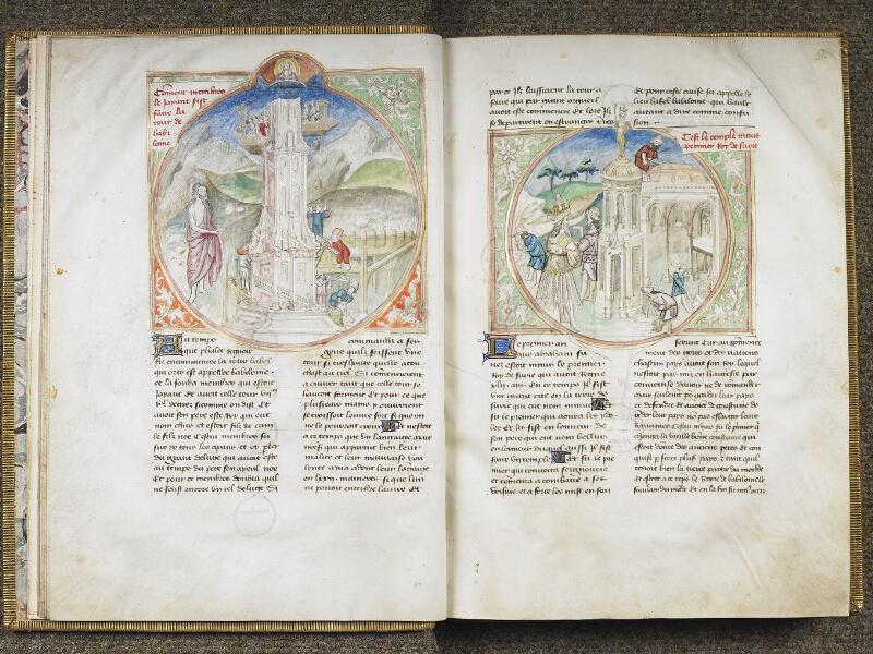 CHANTILLY, Bibliothèque du château, 0028 (1378), f. 008v - 009