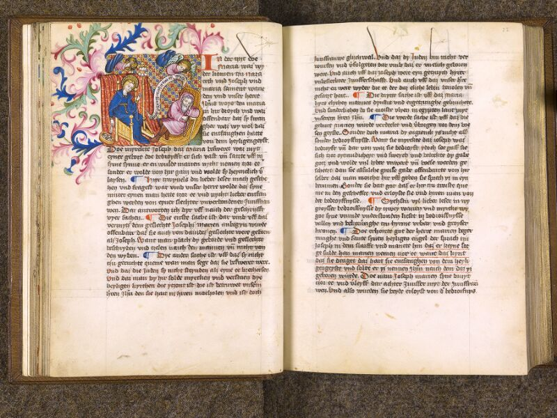 CHANTILLY, Bibliothèque du château, 0035 (1455), f. 021v - 022