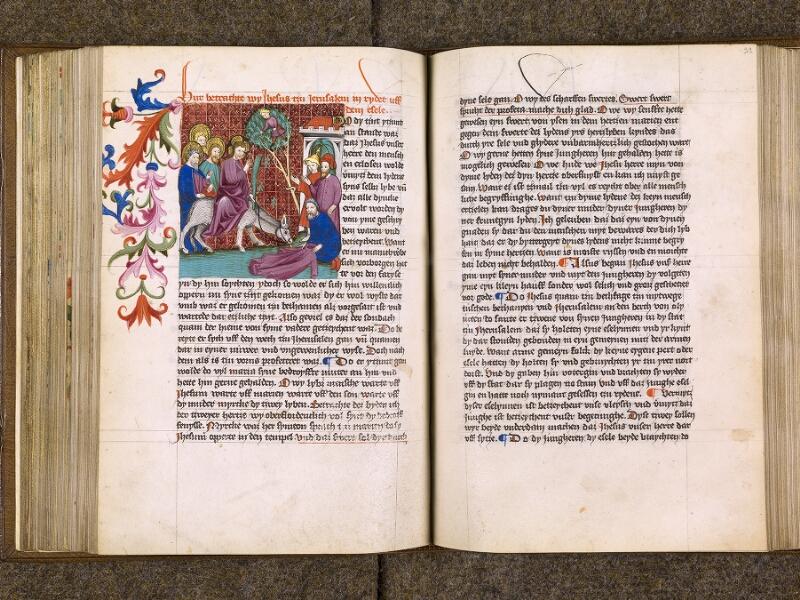 CHANTILLY, Bibliothèque du château, 0035 (1455), f. 098v - 099