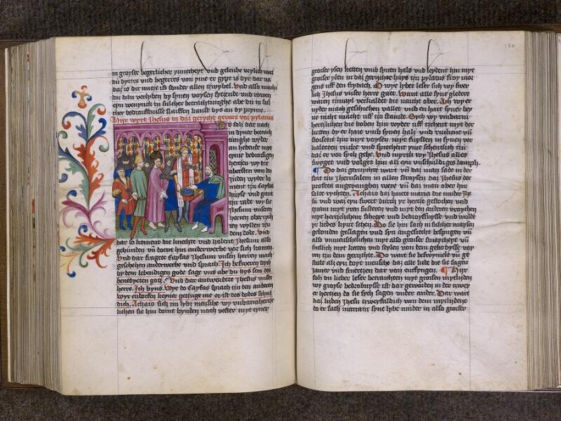 CHANTILLY, Bibliothèque du château, 0035 (1455), f. 129v - 130