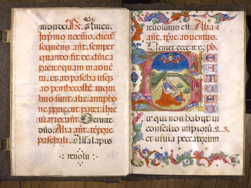 CHANTILLY, Bibliothèque du château, 0042 (1428), f. 008v - 009
