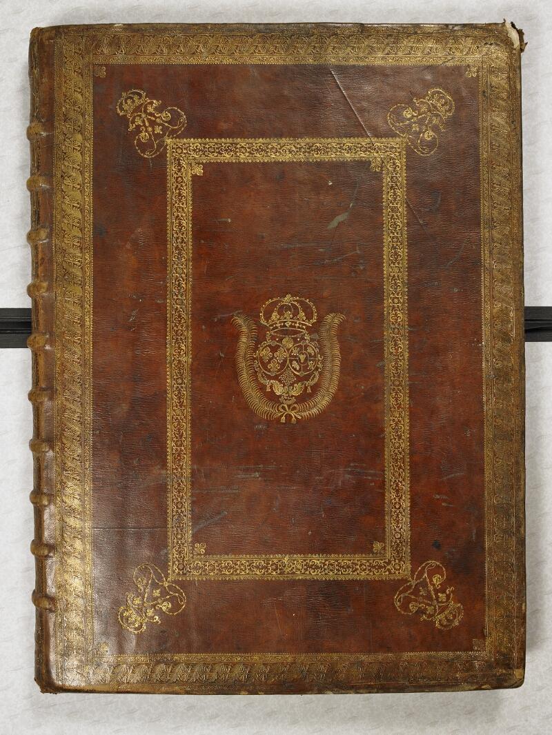 CHANTILLY, Bibliothèque du château, 0044 (1681), plat supérieur