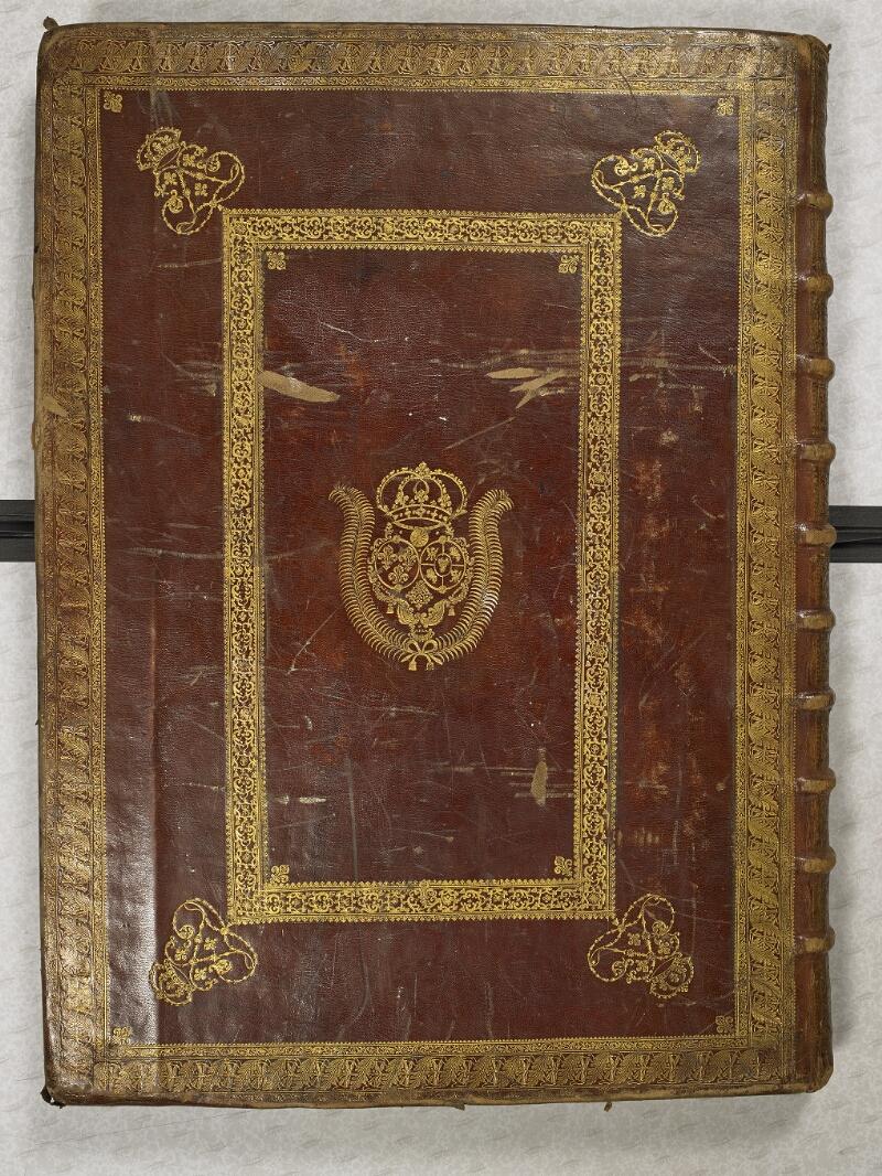 CHANTILLY, Bibliothèque du château, 0044 (1681), plat inférieur
