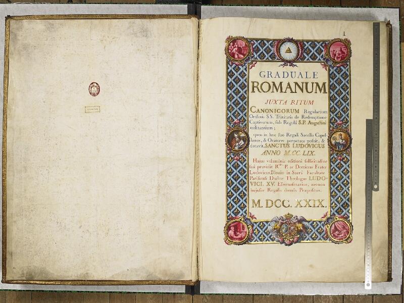 CHANTILLY, Bibliothèque du château, 0044 (1681), p. 002 - 003