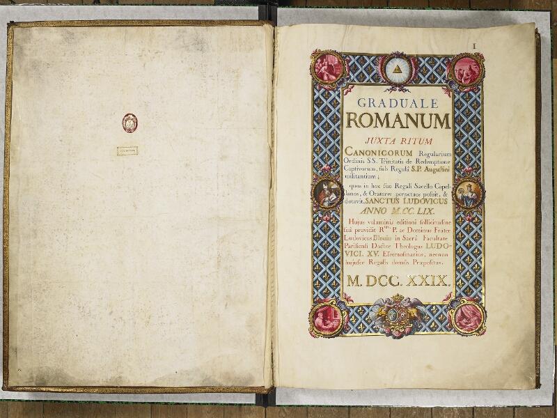 CHANTILLY, Bibliothèque du château, 0044 (1681), p. 004 - 005