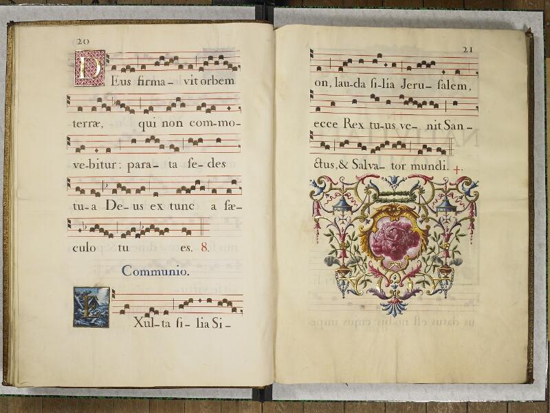 CHANTILLY, Bibliothèque du château, 0044 (1681), p. 024 - 025