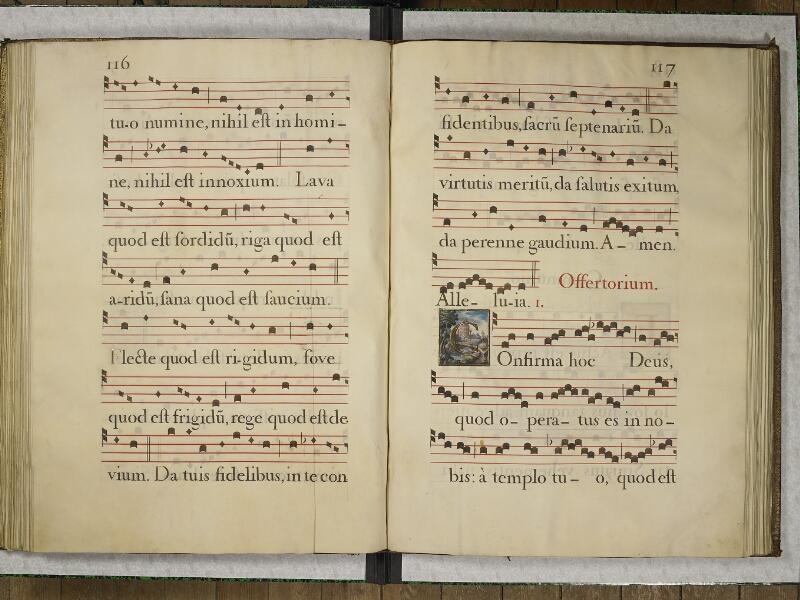 CHANTILLY, Bibliothèque du château, 0044 (1681), p. 122 - 123